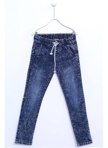 Silversun Kids Koyu Denim Belden Ipli Cepli Kot Pantolon Pc 310232 Lacivert